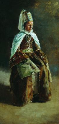 Кабардинка. 1880-e Этюд