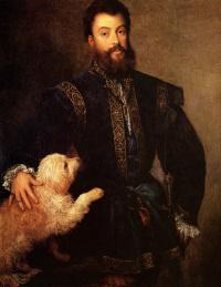 Тициан Вечеллио. Федериго II