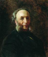 Portrait of the artist I. K. Aivazovsky
