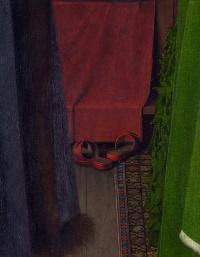 Arnolfini Portrait (detail)