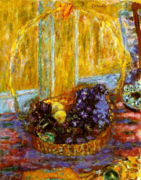 Пьер Боннар. Корзина с фруктами