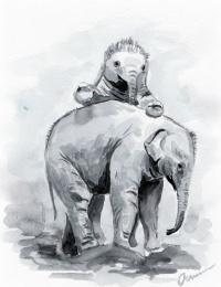 Екатерина Викторовна Осипович. Слонята