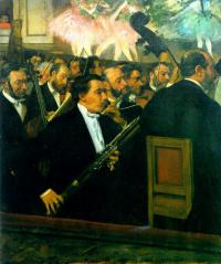 Эдгар Дега. Оркестр оперы