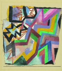Farbige und graphische Winkel