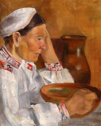 Александр Александрович Дейнека. Портрет матери