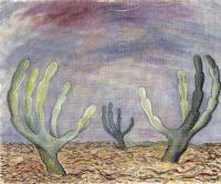 Диего Мария Ривера. Большие кактусы