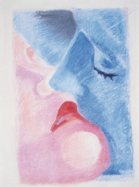 Robert Delaunay. Kiss