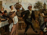 Танцующая пара (фрагмент 2)
