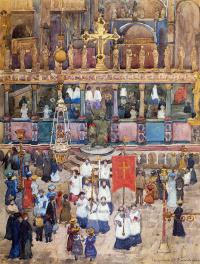 Пасхальная процессия церкви св. Марка
