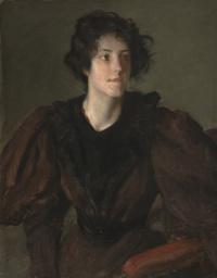 Уильям Меррит Чейз. Портрет молодой женщины