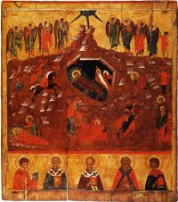 Christmas with selected saints