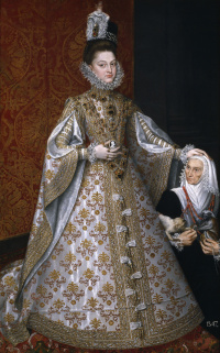 Infanta Isabella Clara Eugenia and Magdalena Ruiz