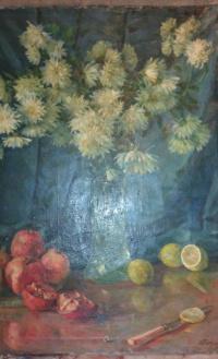 Натюрморт с цветами 1961 г.