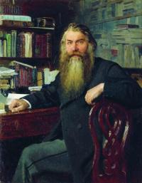 Илья Ефимович Репин. Портрет историка И. Е. Забелина