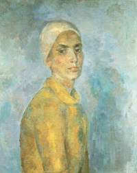 Роберт Рафаилович Фальк. Женщина в желтой блузке