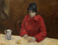 Женщина в красном. Любовь Георгиевна Попеску