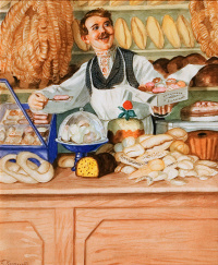"""Baker. From the series """"Russian types"""""""