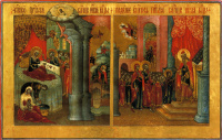 Christmas of Our Lady. Introduction to the temple (Nevyansk, workshop Bogatyrevs)