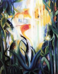 Джозеф Стелла. Водная жизнь (Золотая рыбка)