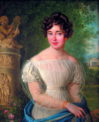 Portrait of a Lady in the park