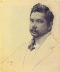 Портрет художника Константина Сомова