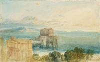 Джозеф Мэллорд Уильям Тёрнер. Кастель-дель-Ово в Неаполе с островом Капри вдали