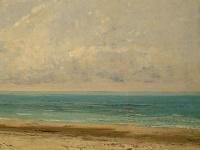 Гюстав Курбе. Спокойное море