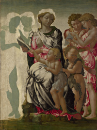 The Virgin and Child with Saint John and Angels