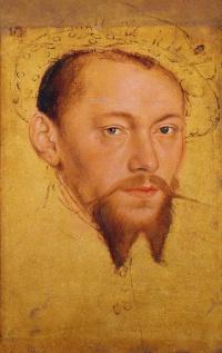 Portrait of Moritz, Duke of Saxony