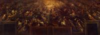 Франческо Бассано. Воскрешение праведных и коронование Марии (Рай)