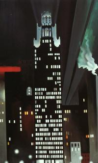 Ночное здание, Нью-Йорк
