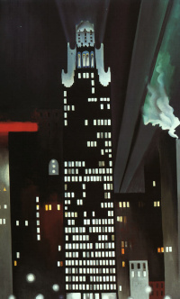 Night building, new York