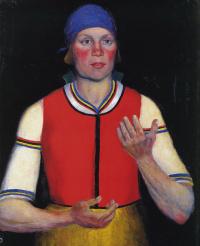 Казимир Северинович Малевич. Работница