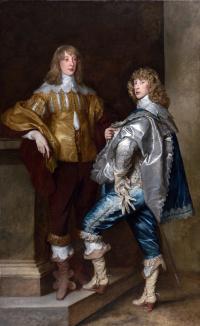 Лорд Джон Стюарт и его брат, лорд Бернард Стюарт