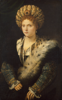 Portrait of Isabella d'este, of Mantua markgravine