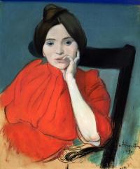 Луи Анкетен. Портрет женщины