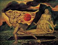 Уильям Блейк. Адам и Ева находят тело Адама