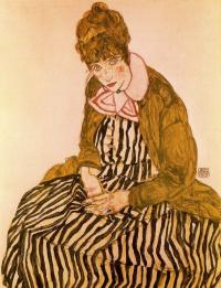Портрет Эдит Шиле, жены художника