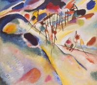 Wassily Kandinsky. Landscape