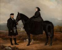 Чарльз Бертон Барбер. Королева Виктория и ее слуга Джон Браун