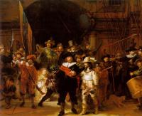 Рембрандт Харменс ван Рейн. Ночной дозор