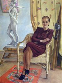 Портрет архитектора Тамары Милешиной