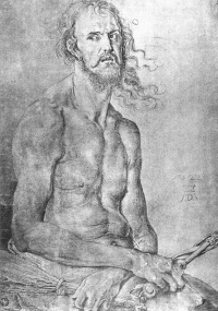 The man of sorrows (self-Portrait)