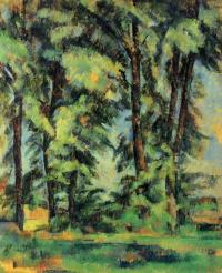 Высокие деревья в Жа де Буффан