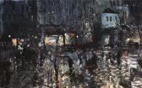 Konstantin Alekseevich Korovin. After the rain. Paris