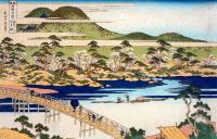 Katsushika Hokusai. Arashiyama