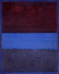 No. 61 (rust and blue)