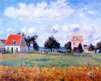 Камиль Писсарро. Красный дом