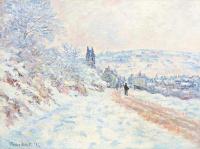 Дорога на Ветёй, снежный эффект
