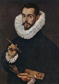 Portrait of the artist's son, Jorge Manuel Theotokopoulos